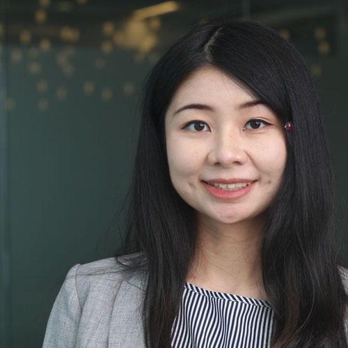 """Photo of Shaoyu """"Zoe"""" Huang"""